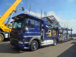 car transporter truck DAF CF85-410 2012