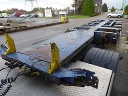 container chassis semi trailer Nooteboom D Tec,schijfremmen BPW,Multi,Highcube,3x uitschuifbaar,polyvalent,liftas... 2003