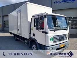 closed box truck MAN TGL 8.180 4X2 BB / Box / Loadlift / MANUAL 2007