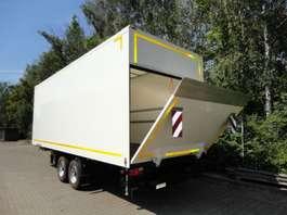 closed box trailer Möslein TKO105 D-L 6 m  Tandem Koffer mit Ladebordwand 1,5 t und Durchladbar-- Neuf 2019