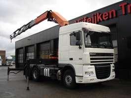 crane truck DAF XF105-510 6X4 - TRACTOR UNIT PALFINGER PK 42502 D 2008