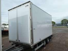 closed box car trailer BUNK BU 3500 2014