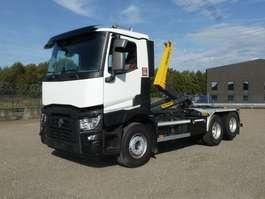 camion conteneur Renault C 460 L 6x2/4 - 17.905 Km - KORTE WIELBASIS - NIEUWSSTAAT 2018