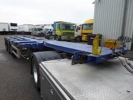 container chassis semi trailer Nooteboom d-Tec ,Scheibenbremsen,BPW,Multi,Highcube,3x uitschuifbaar,polyvalent,li... 2003