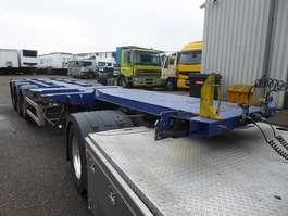 Containerfahrgestell Auflieger Nooteboom d-Tec ,Scheibenbremsen,BPW,Multi,Highcube,3x uitschuifbaar,polyvalent,li... 2003
