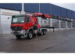 crane truck Mercedes Benz Actros 3341 6x6 HMF 80 ton/meter laadkraan 2007