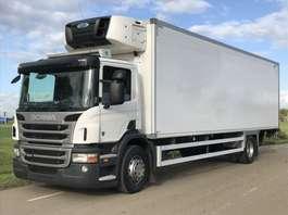 camión frigorífico Scania SCANIA P280 EURO5. 07-2013.  KOEL/Bakwagen met Laadklep. in TOPSTAAT!! 2013