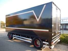 closed box trailer Floor FLA-8-81 2 As Vrachtwagen Aanhangwagen Gesloten, 02-98-WX 1983