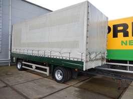 прицеп с наклонной платформой HOEKSTRA AHW20T 2 As Vrachtwagen Aanhangwagen Schuifzeil - Vrachtwagen A... 1998