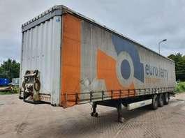 sliding curtain semi trailer Krone BPW - DRUM - Schuifzeilen - schuifdak 2011