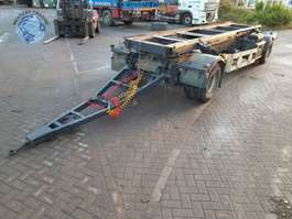 tipper trailer Trax R192WUR 1998