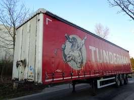 sliding curtain semi trailer Krone 03TUV XL12642 2012