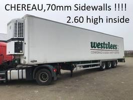 refrigerated semi trailer Chereau chereau thermo king BPW , 2.60 high 13.60 long