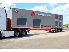 flatbed semi trailer Dennison Trailers extendable 21,25 meter 2020