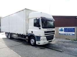 camião de caixa fechada DAF CF85.360 SPACECAB 6X2  - caisse longueur 9,5 m 2007