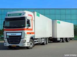 camion refrigerato DAF XF460 FAR SSC  EURO 6  6X2  TOP CONDITION 50 CC FRIGO COMBI 2015