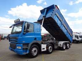 camion à benne basculante DAF CF 85.360 + 8x2 + KIPPER 2008