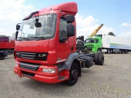 chassis cab truck DAF LF 55.180 + Euro 5 + Spoiler + 2 IN STOCK 2012