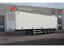 refrigerated semi trailer Ekeri FRC opening side, double-stock 2020