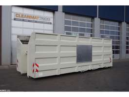 open top shipping container Glass collection container 35m3 2010
