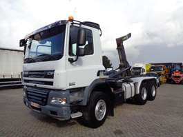 Container-LKW DAF CF 85.410 + 6x4 + Manual + pto + Retarder spring spring big axle 2008