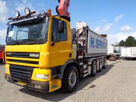 Container-LKW Ginaf X 4243 TS + 8X4 + HMF CRANE + REMOTE CONTROL + CHAIN SYSTEM 2006