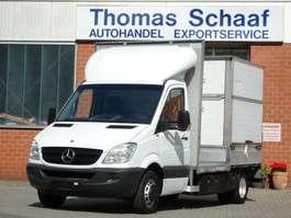 samochód dostawczy ze skrzynią zamkniętą Mercedes Benz Sprinter 515 Cdi Maxi Toiletten/Dixi/Wc Pritsche 2007