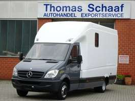 veículo comercial ligeiro de caixa fechada para transporte de cavalos Mercedes Benz Sprinter 515 Cdi Tier-/Pferdetransporter 3.5 T 2009