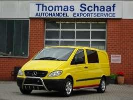 samochód dostawczy zamknięty Mercedes Benz Vito 115 CDI Lang Doppelkabine 5 Sitze Ahk Lkw 2004