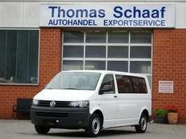 mpv car Volkswagen T5 T5 Transporter 2.0 CNG/Erdgas 9 Sitze Lang Klima 2012