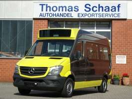 city bus Mercedes Benz Sprinter 313 Cdi Blue Efficiency 1+7 Sitze Klima 2014