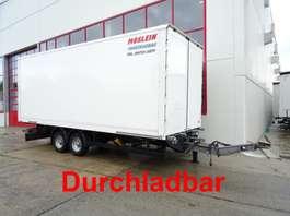 closed box trailer Möslein TKO 105 D Schwebheim  Tandem- Koffer- Anhänger, Durchladbar 2018