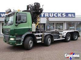 camión contenedor Ginaf X4241 S 460 8X4 Haakarm Euro 5 2009