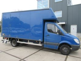 closed box lcv < 7.5 t Mercedes Benz Sprinter 515 CDI 2009