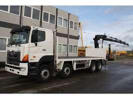 crane truck Hino 700FY crane 2007