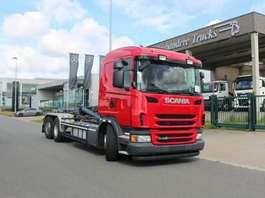 samochód do przewozu kontenerów Scania G 440 - 6X2/4 - EURO 6 - CONTAINERWAGEN - MOTOR PTO 2013