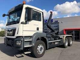 container truck MAN TGS 26.440BB-6X4-3M90 WIELBASIS-MOTOR PTO-RADIOSTURING-78500KM-ALS NIEUW!! 2017