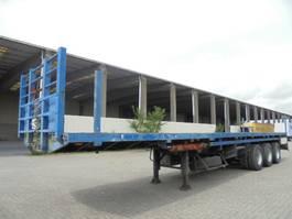 flatbed semi trailer EKW RO 44TU3ALV 1987