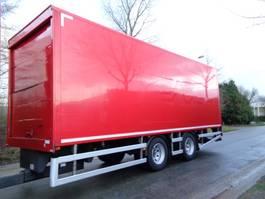 closed box trailer Tracon UDEN TM 18 2002