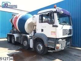 concrete mixer truck MAN TGA 32 400 8x4, Imer Group mixer, 9 M3, Manual, Steel suspension, Airco,... 2008