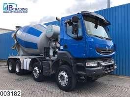 concrete mixer truck Renault Kerax 410 Dxi 8x4, Imer group beton / Concrete mixer, Manual, Airco, Ste... 2008