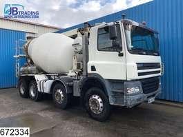 concrete mixer truck DAF 85 CF 380 8x4, Liebherr, 11 MTR, Remote control, Steel suspension, Manua... 2005