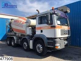 concrete mixer truck MAN TGA 32 360 8x4, Liebherr, Theam 13 mtr belt,  Steel suspension, euro 4 2007
