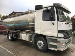 tank truck Mercedes-Benz SUSP A LAMES/LAMES ETA CITERNE EN INOX 2COMP