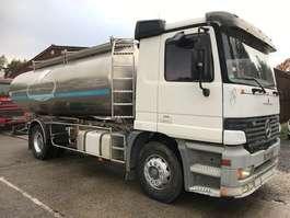cisternové vozidlo Mercedes Benz SUSP A LAMES/LAMES ETA CITERNE EN INOX 2COMP 1998