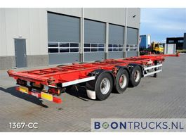 container chassis semi trailer Groenewegen 40-14CC-12-27 | 20-30-40ft CONTAINERCHASSIS 2000