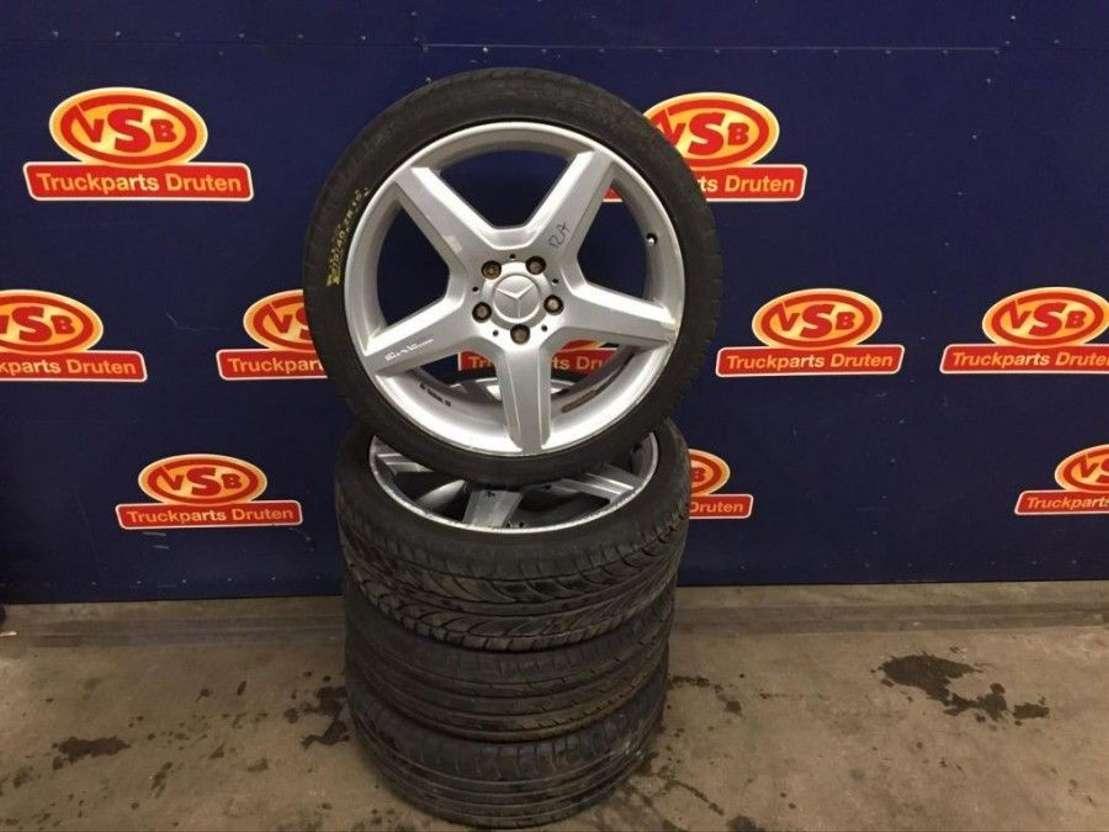 Used Mercedes Benz Org Amg Velgen 5x112 21540 18 Inch Cab Klasse Tyres Car Part