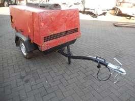 другие прицепы для легковых автомобилей Atlas-Copco Enkel as Aanhangwagen met Luchtcompressor - 750 kg 1992
