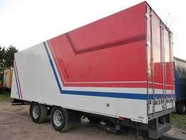 closed box trailer Vogelzang 2 As Wipkar Gesloten, WK-68-LK 1993