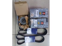 Belt tensioner truck part Volvo Belt Tensioner set , Belts set Volvo FH 4 Euro 6 21983655 21983661 21915...